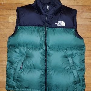 THE NORTH FACE MENS LARGE PUFFER VEST 700 SERIES